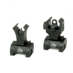 G&G Flip Up Sights Black