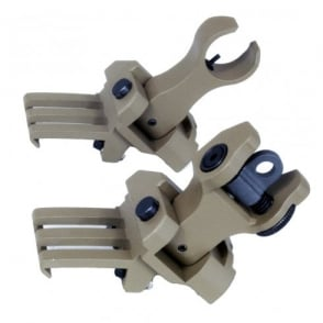 G&P 40 Degree Back-Up Sight Set Sand