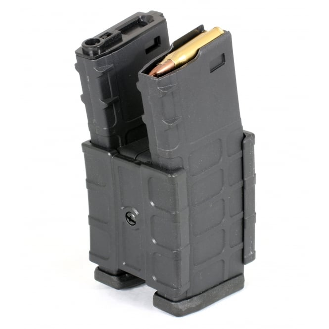 G&P Hailstorm Dual Electric Fed High Capacity Magazine in Black