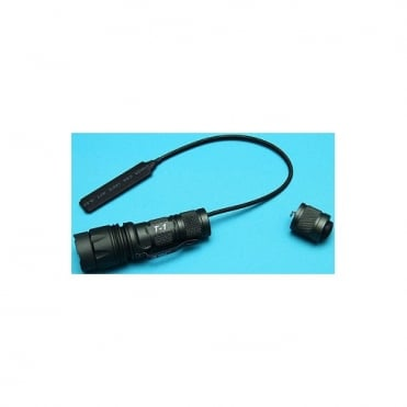 T1 CREE LED Flashlight w/ Pressure Switch GP833A