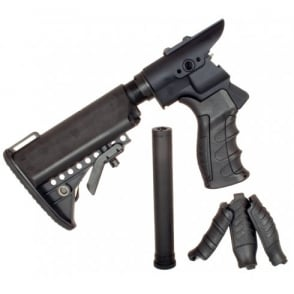 G&P Tokyo Marui M870 Gas Charging Collapsible Stock Set