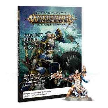 Game Workshop : Getting Started with Age of Sigmar Magazine Set