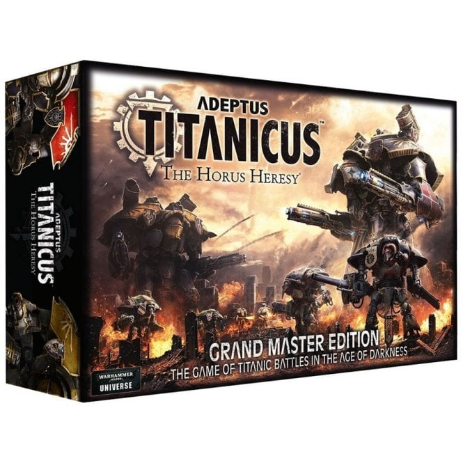 Games Workshop Adeptus Titanicus - The Horus Heresey Grand Master Edition Boxed Set