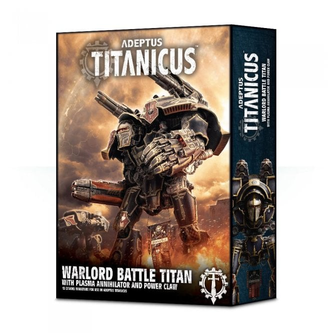 Games Workshop Adeptus Titanicus Warlord Battle Titan With Plasma Annihilator