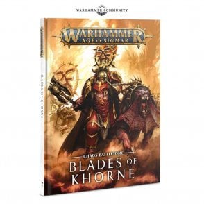 Games Workshop Age of Sigmar Chaos Battletome : Blades of Khorne Hardback