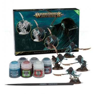 Games Workshop Age of Sigmar : Nighthaunt & Paint Set