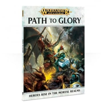 Games Workshop Age of Sigmar : Path to Glory Softback Book