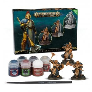 Games Workshop Age of Sigmar : Stormcast Eternals & Paint Set