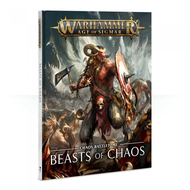 Games Workshop Battletome : Beasts of Chaos