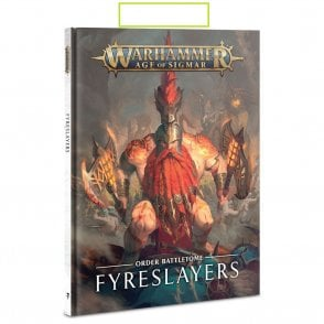 Games Workshop Battletome : Fyreslayers Hardback