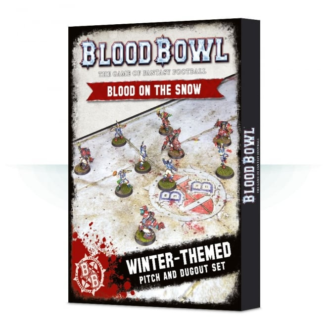 Games Workshop Blood Bowl : Blood on the Snow Pitch & Dugouts