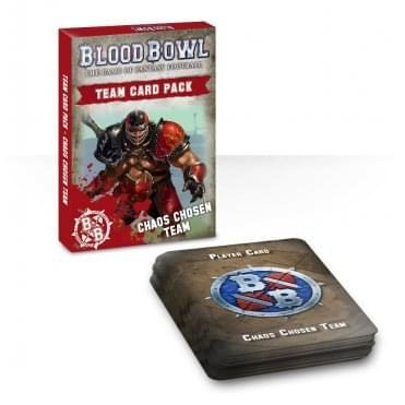 Games Workshop Blood Bowl : Chaos Chosen Team Card Pack