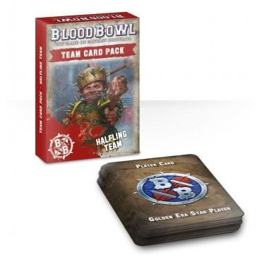 Games Workshop Blood Bowl Halfling Team Card Pack
