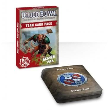 Games Workshop Blood Bowl : Skaven Team Cards