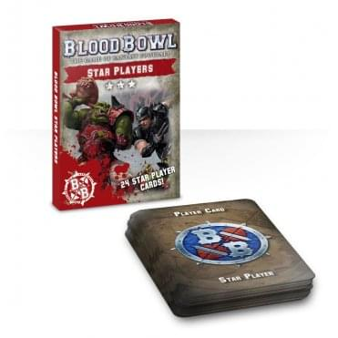 Games Workshop Blood Bowl : Star Players Card Pack
