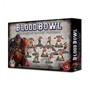 Games Workshop Blood Bowl : The Doom Lords Team