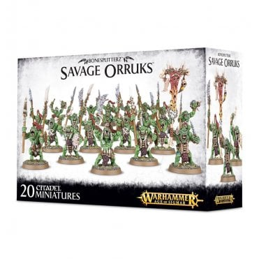 Games Workshop Bonesplitterz Savage Orruks