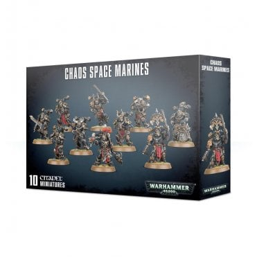 Games Workshop Chaos Space Marines (10 figures)