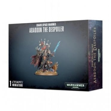 Games Workshop Chaos Space Marines : Abaddon the Despoiler
