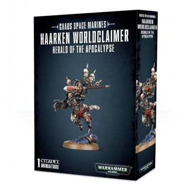 Games Workshop Chaos Space Marines : Haarken Worldclaimer