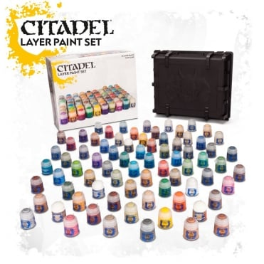 Games Workshop Citadel Layer Paint Set inc Box