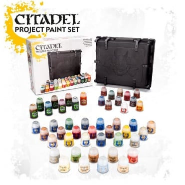 Games Workshop Citadel Project Paint Set inc Case