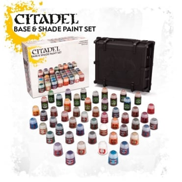 Games Workshop Citadel Shade Paints & Bases Set in Case