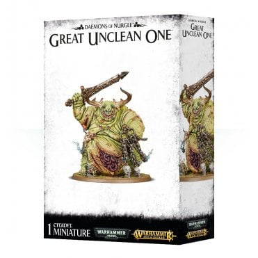 Games Workshop Daemons of Nurgle Great Unclean One