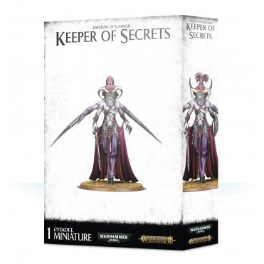 Games Workshop Daemons of Slaanesh : Keeper of Secrets