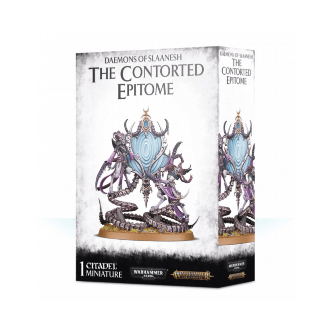 Games Workshop Daemons of Slaanesh : The Contorted Epitome
