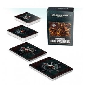 Games Workshop Datacards : Chaos Space Marines 2