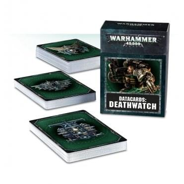 Games Workshop Datacards : Deathwatch