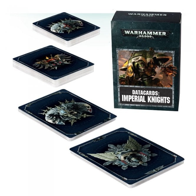 Games Workshop Datacards : Imperial Knights