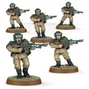 Games Workshop Easy to Build Astra Militarum Cadians