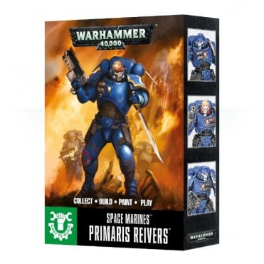 Games Workshop Easy To Build: Primaris Space Marine Reivers