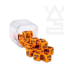 Games Workshop Eldar Fire Dragon Dice