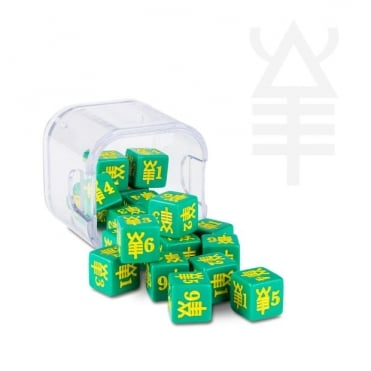 Games Workshop Eldar Striking Scorpion Dice