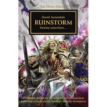 Games Workshop Horus Heresy : Ruinstorm Hardback Book