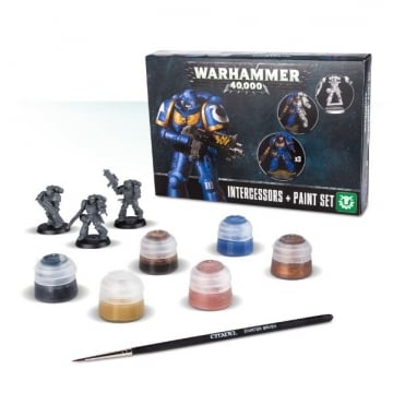 Games Workshop Intercessors and Paint Set