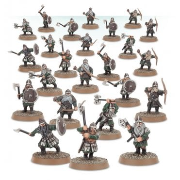 Games Workshop Lord of the Rings Dwarf Warriors