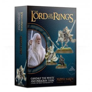 Games Workshop Lord of the Rings : Gandalf the White & Peregrin Took
