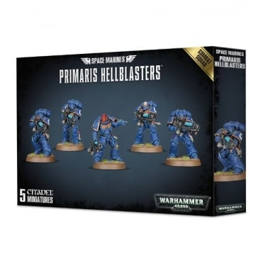 Games Workshop Space Marine Primaris Hellblasters Combat Squad