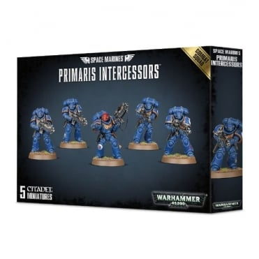 Games Workshop Space Marine Primaris Intercessors