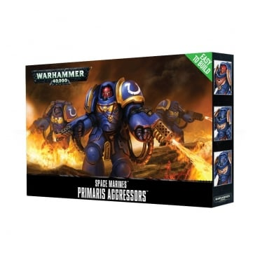 Games Workshop Space Marines Easy To Build Primaris Aggressors