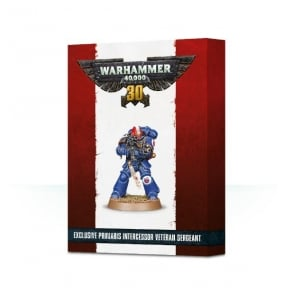 Games Workshop Space Marines Exclusive Primaris Intercessor Veteran Sergeant