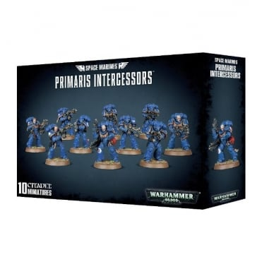 Games Workshop Space Marines Primaris Intercessors