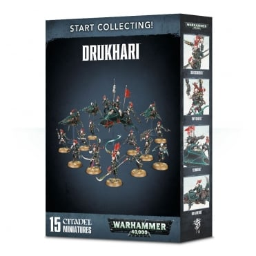 Games Workshop Start Collecting Drukhari Warhammer 40,000 NEW