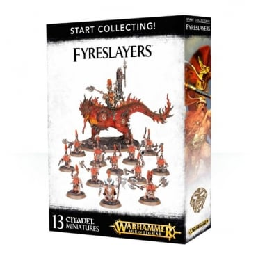 Games Workshop Start Collecting Fyreslayers