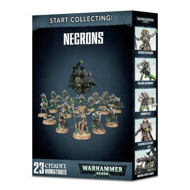 Games Workshop Start Collecting! Necrons NEW