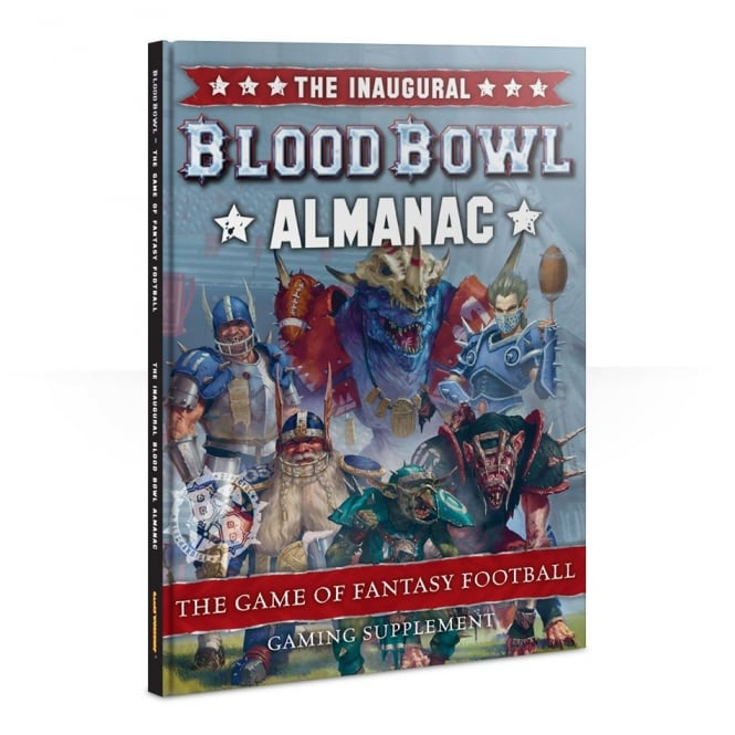Games Workshop The Inaugural Blood Bowl Almanac Hardback